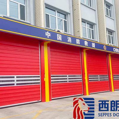 杭州消防车库硬质快速门