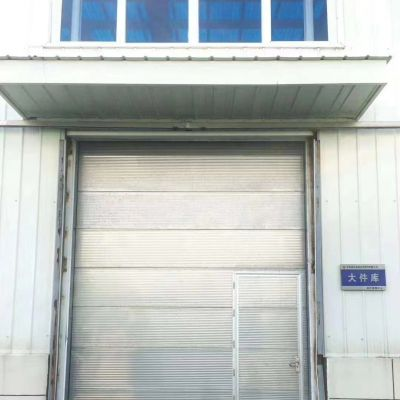 南通中石油液化天然气运行保障中心定制不锈钢保温提升门