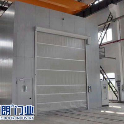 江苏中科机械喷砂房使用的防护快速门
