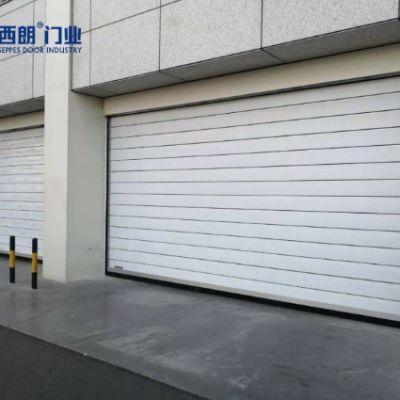 宁夏银川机场安装的涡轮硬质快速提升门