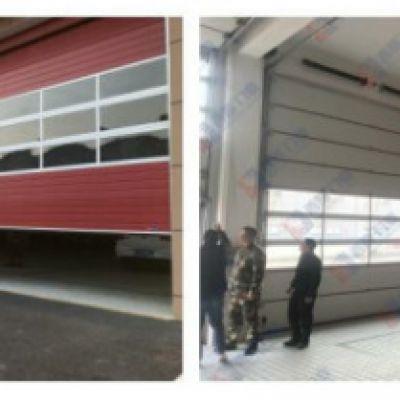 杭州消防队车库出警使用的提升门