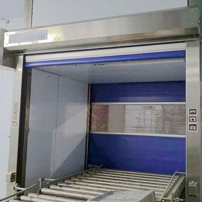 杭州食品车间使用的防尘自动升降快速卷帘门