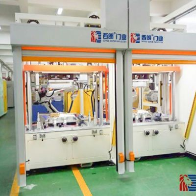 杭州厂房自动化设备上配备的防护型快速门