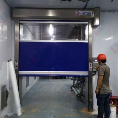 食品车间使用的不锈钢快速门