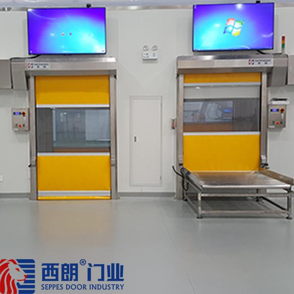 南京康宝莱生产车间快速门