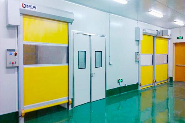杭州百万级洁净室快速门