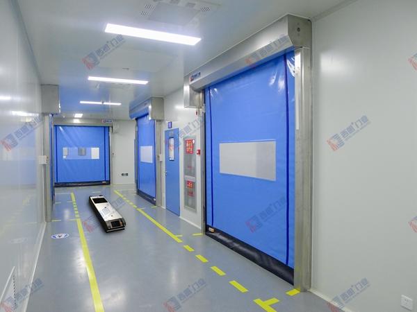 杭州西朗——可与AGV设备联动的快速卷帘门